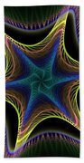Star Twist Spiral Bath Towel