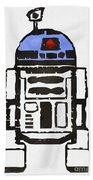 Star Wars R2d2 Droid Robot Bath Towel