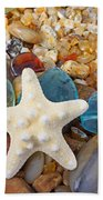 Starfish Art Prints Star Fish Seaglass Sea Glass Bath Towel