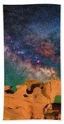 Stargazing Bull Bath Towel