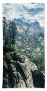 Staring At The Continental Divide Bath Towel