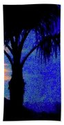 Starry Night At Casapaz Hand Towel