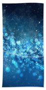 Stars And Bokeh Bath Towel