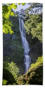 Starvation Creek Falls Bath Towel
