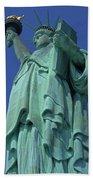 Statue Of Liberty 12 Bath Towel