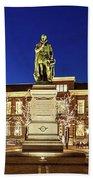 Statue Of William Of Orange On The Plein - The Hague Bath Towel