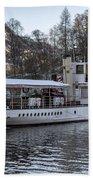 Steam Boat On Loch Katrine Bath Towel
