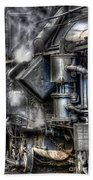Steam Engine Detail Bath Towel