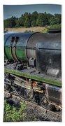 Steam Locomotive 34027 The Taw Valley Bath Towel