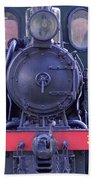 Steam Locomotive Train Bath Towel