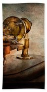 Steampunk - Gear Technology Bath Towel