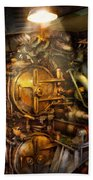 Steampunk - Naval - The Torpedo Room Bath Towel