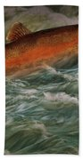 Steelhead Trout Fish No.143 Bath Towel