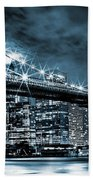 Steely Skyline Bath Towel