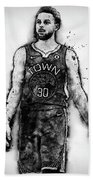 Steph Curry, Golden State Warriors - 18 Bath Towel
