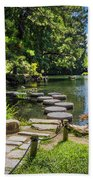 Stepping Stones Japanese Garden Maymont Bath Towel