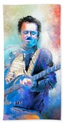 Steve Lukather 01 Bath Towel