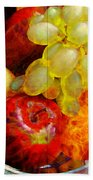 Still Life Tiles Bath Towel