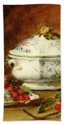Still Life With A Soup Tureen Bath Towel