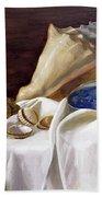Still Life With Shells Bath Towel