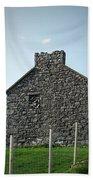 Stone Building Maam Ireland Bath Towel