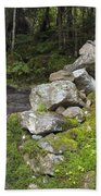 Stone Gate - Edmands Path - White Mountains New Hampshire  Bath Towel