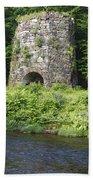 Stone Iron Furnace - Franconia New Hampshire Usa Bath Towel