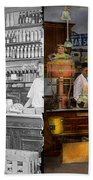 Store - In A General Store 1917 Side By Side Bath Towel