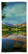 Storm At Trout Lake Bath Towel