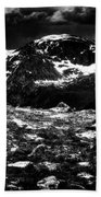Storm Clouds Gathering In The Rockies Bath Towel