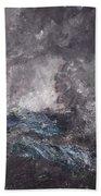 Storm In The Skerries. The Flying Dutchman Bath Towel