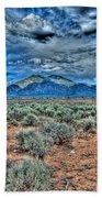 Storm Over Taos Mountain Bath Towel