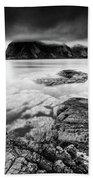 Stormy Lofoten Bath Towel