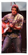 Strange Vine Guitarist Toby Cordova Bath Towel