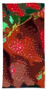 Strawberry Fields Forever Bath Towel