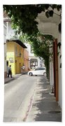 Street In Colombia Bath Towel