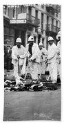Street Sweepers, 1911 Bath Towel