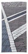 Streets Of Mainz 1 Bath Towel