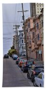 Streets Of San Francisco -2 Bath Towel