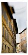 Streets Of Siena Bath Towel