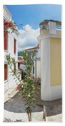 Streets Of Skopelos Bath Towel