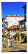 Streets Of Valenca Bath Towel