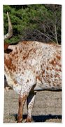 Strike A Pose - Longhorn Style Bath Towel