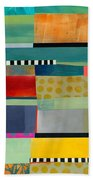 Stripe Assemblage 2 Hand Towel