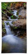 Strongs Canyon Cascades Bath Towel