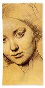 Study For Vicomtesse D Hausonville Born Louise Albertine De Broglie Bath Towel