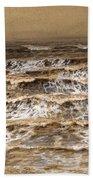 Study Of Waves Hand Towel