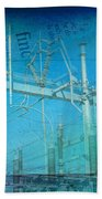Substation Insulators Bath Towel