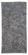 Subtle Lichen On Granite Texture Bath Towel