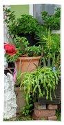 Suburban House With Front Yard Religious Shrine Hayward California 10 Bath Towel